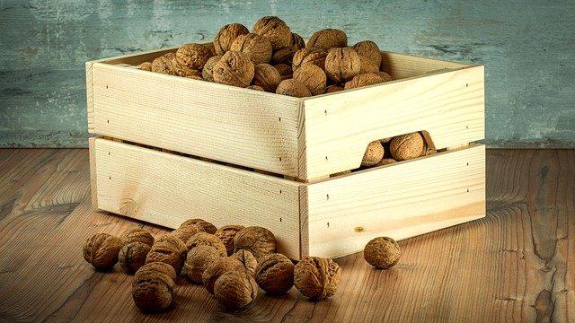 bedýnka s ořechy