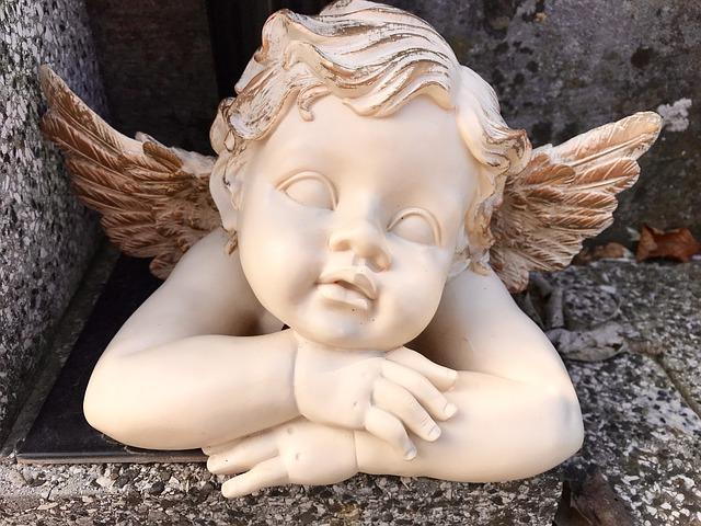 soška andílka