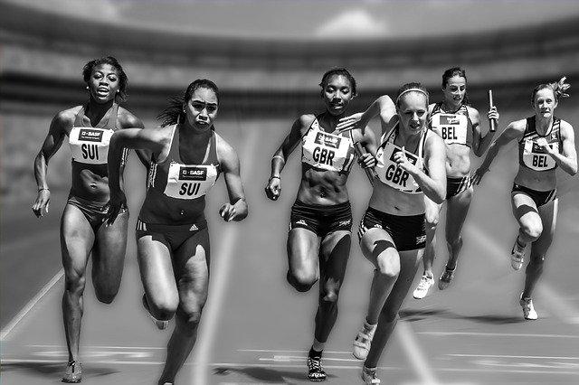 profesionální běžkyně